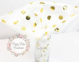 gold polka dot tissue paper neapolitan polka dot tissue paper for gift bags 20 x30 pink