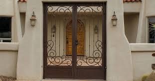 southwest iron works screen doors tucson window grills tucson