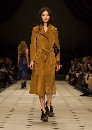 trend alert suede trench coats the fashion tag blog