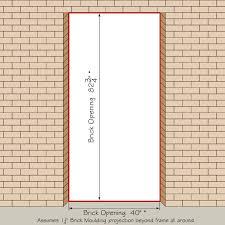 Prehung Interior Door Sizes Cool Prehung Interior Door Opening Chart Ideas Best