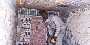 ancient egyptian tombs with eye popping murals discovered in luxor ancient egyptian tombs with eye popping murals discovered in luxor huffpost