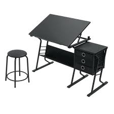 Drafting Table Storage Artist Table With Storage Slant Top Drafting Table Desk With