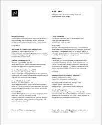 Two Column Resume The Two Column Resume Option Simone Jenifer Design