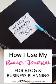 my blog u0026 business planner bullet journal flip through u2014 the