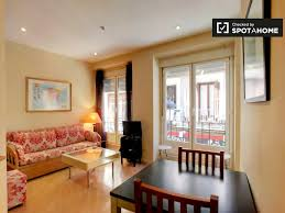 1 bedroom apartment to rent on plaza santa ana in madrid ref