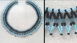 necklace patterns with beads images Beading4perfectionists basic netted necklace for beginning jpg