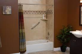 Bathroom Shower Walls Decorative Interior Shower Tub Wall Panels Contemporary