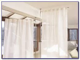 curtain room divider without drilling curtain home design