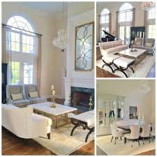 blog lawrence mayer just completed this stunning nj home grandiose rooms with high ceilings can be a design challenge scale is important in this space and margie filled