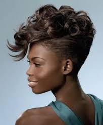 black pecision hair styles spiky fohawk haircutting precision hair we go