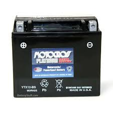 ytx12 bs motocross 12 volt motorcycle replacement battery by yuasa