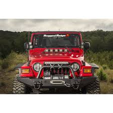 jeep wrangler tj light bar rugged ridge 11232 09 light bar hood mounted 97 06 jeep wrangler tj