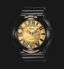 Jam Tangan Baby G Gold casio baby g bga 160 1bdr gold digital analog black