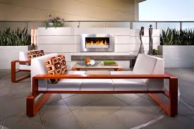 furniture country outdoor backyard living room design with white