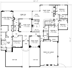 5 bedroom floor plans 5 bedroom 1 story home plans nrtradiant