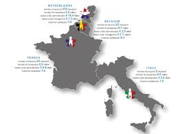 France And Italy Map by The Nest Egg Portfolio 4 New Names Added To The Dividend