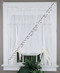 Tie Up Curtains Metro Tie Up Oyster White Curtains