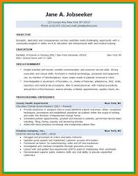 Resume Sle For A Nursing Student 9 School Resume Letter Setup