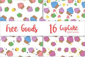 Design Patterns For Cards 140 Cupcake Patterns U2013 Free Psd Png Vector Eps Format Download