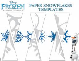 templates for snowflakes make paper snowflakes by frozen christmas pinterest paper
