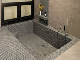 small tubs and showers sunken bathtub with shower walk in shower
