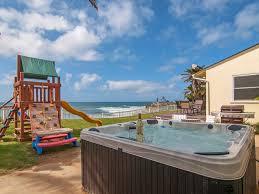 panoramic ocean view backyard in upscale la vrbo