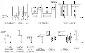 ada bathroom fixtures bathroom fixtures mounting heights cad dwg cadblocksfree cad