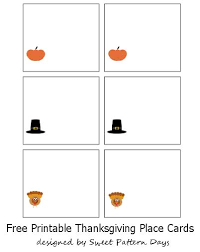 thanksgiving place cards printables u2013 freebies