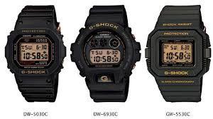 Jam Tangan G Shock Pertama jam tangan casio g shock vintage keluar 3 model jam digital jadul