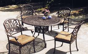 Aluminum Patio Dining Set with Patio Dining Furniture Sets