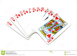 classic cards hearts royalty free stock photo image