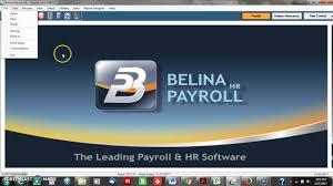 belina payroll training youtube