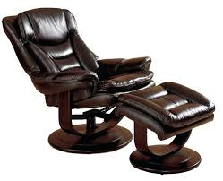 Leather Swivel Recliner Surprising Leather Swivel Recliner Chair And Ottoman Ideas