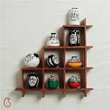 homeshop18 home decor wall decor with miniature pots wall hangings homeshop18