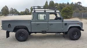 original land rover defender 1992 land rover defender 130 double cab high capacity pickup
