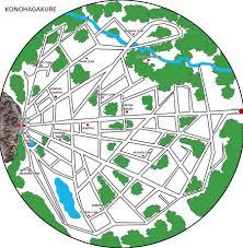 Naruto World Map by Naruto Konoha Map By Txfiremoon On Deviantart
