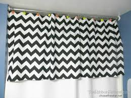 How To Make A No Sew Window Valance Sew Shower Curtain Valance The Ribbon Retreat Blog