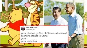 china bans beloved u0027winnie pooh u0027 reason