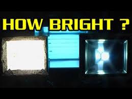 led vs halogen flood lights led vs halogen vs fluro work lights the watts lumens lighting scam
