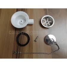 lavabo de cuisine hobby vanne de déscente lavabo évier cuisine avec chaînette et