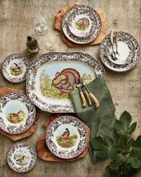 by churchill thanksgiving dinnerware from tuesday morning