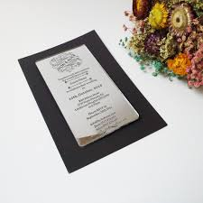 Acrylic Wedding Invitations Card Card Picture More Detailed Picture About Customized100pcs