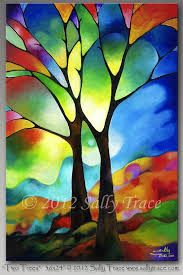 original abstract modern landscape made 25 beautiful abstract trees ideas on watercolor