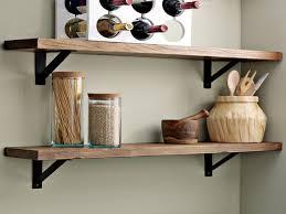 sunroom decor ideas salvaged wood wall shelves kitchen wall open