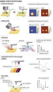 multimodal scanning probe imaging nanoscale chemical analysis
