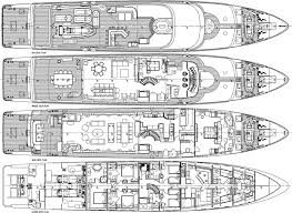 Mega Yacht Floor Plans by Layout Image Gallery My Sovereign 55 Layout Superyacht
