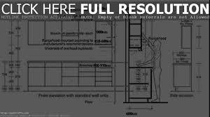 Kitchen Cabinet Measurements Kitchen Cabinet Height Pleasing Average Kitchen Cabinet Size