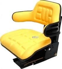 siege deere deere 6600 6800 655 755 855 955 1435 siège du tracteur jaune