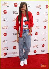 Red White Blue Halloween Costumes Zendaya Aaliyah Costume Dream Halloween Performance Photo