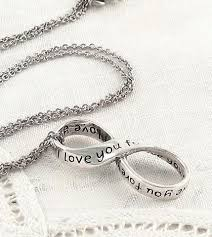 necklace love images I love you forever infinity symbol necklace sterling silver free jpg